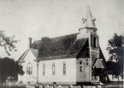 Historic St. John's Lutheran Church in Sadorus, Illinois