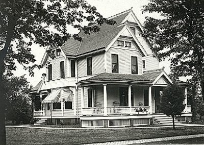Historic residence on 2nd Street in Sadorus, Illinois