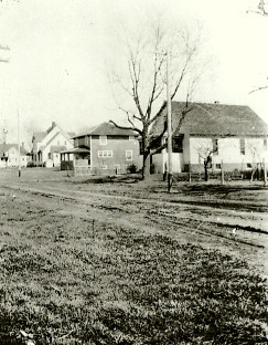 2nd Street in 1922, Sadorus, Illinois